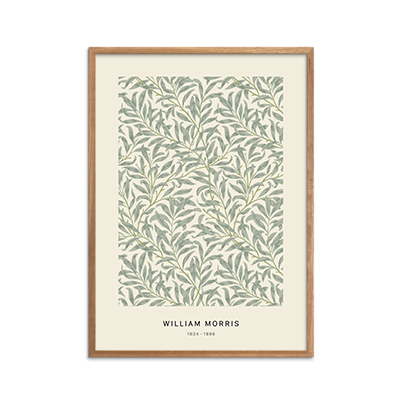 William Morris, blomster,