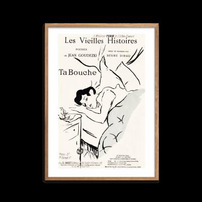 Les Vieilles histoires Ta Bouche Plakat