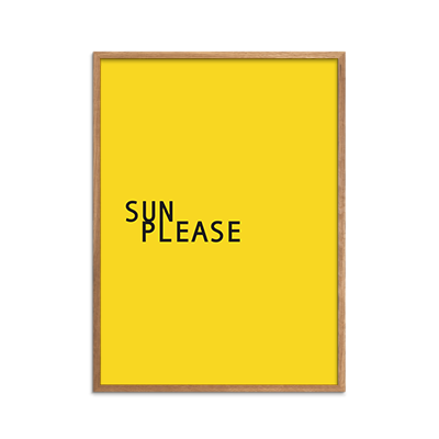 Sun Please Plakat