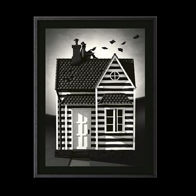 Huset Plakat