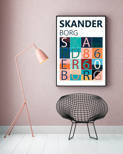 Skanderborg 8660 Plakat
