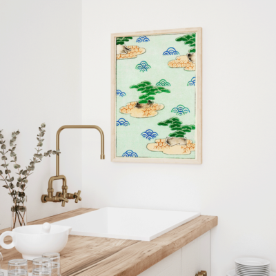 Landscape Illustration Plakat