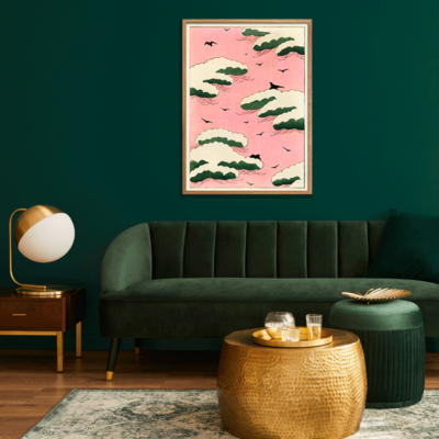 Pink Sky Plakat