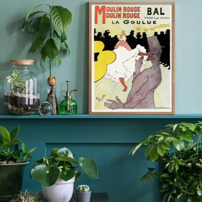 Affiche pour le Moulin Rouge