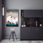 900×900-Ohara-Koson_Group-of-Egrets_Miljo