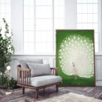 900×900-Ohara-Koson_Peacock_Miljo