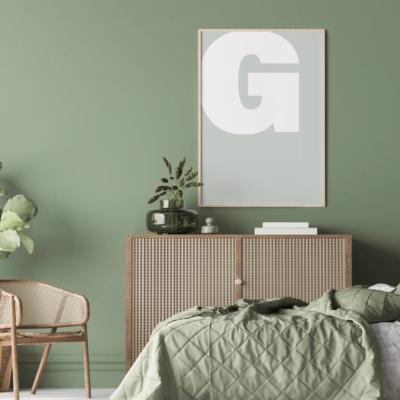 Letter G Plakat