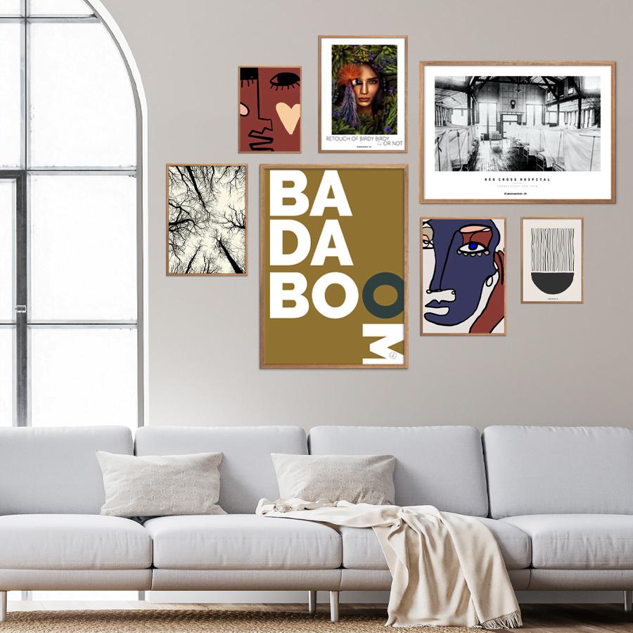Badaboom Plakatvæg
