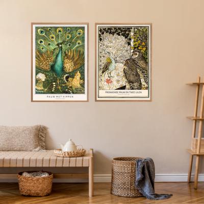 Fasaner & Påfugle Plakatvæg