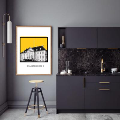Aarhus Marselisborg gul