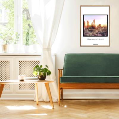 """Plakater med ikoniske bygninger fra flere af de store byer i Europa. """"En hyldest"""" er en plakatserie med den største samling af byplakater overhovedet."""