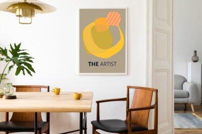 The Artist Plakat