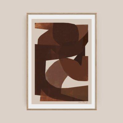Brown Plakat