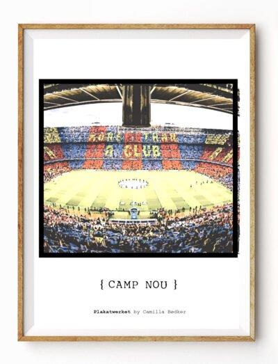 Camp Nou Plakat
