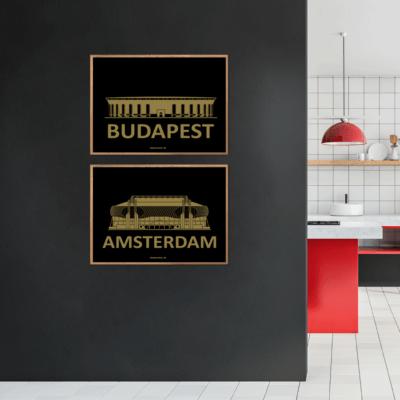 Budapest & Amsterdam