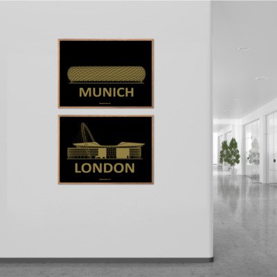 Munich og London Stadium