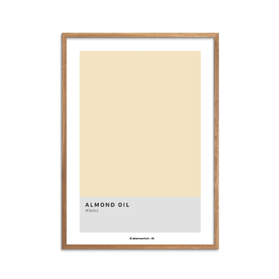 Color Codes Almond Oil