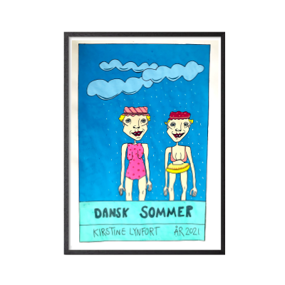 Dansk Sommer Plakat