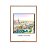 Paris Skyline Farve