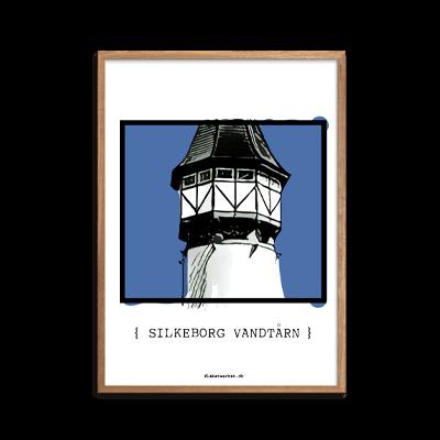 Silkeborg Vandtårn Blå