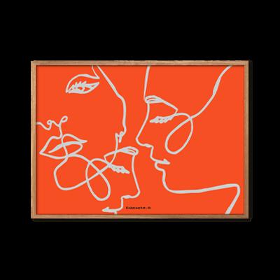 Facelift Close Up Orangered