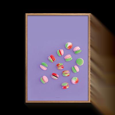Food Macarons Lilla