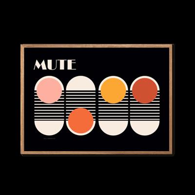 MUTE Plakat