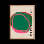 Papercollage 5 Plakat