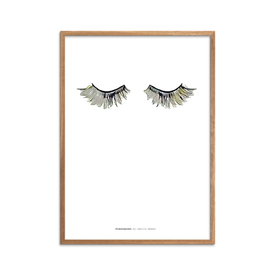 Yellow Eyelashes