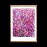 Pink blomsterflor