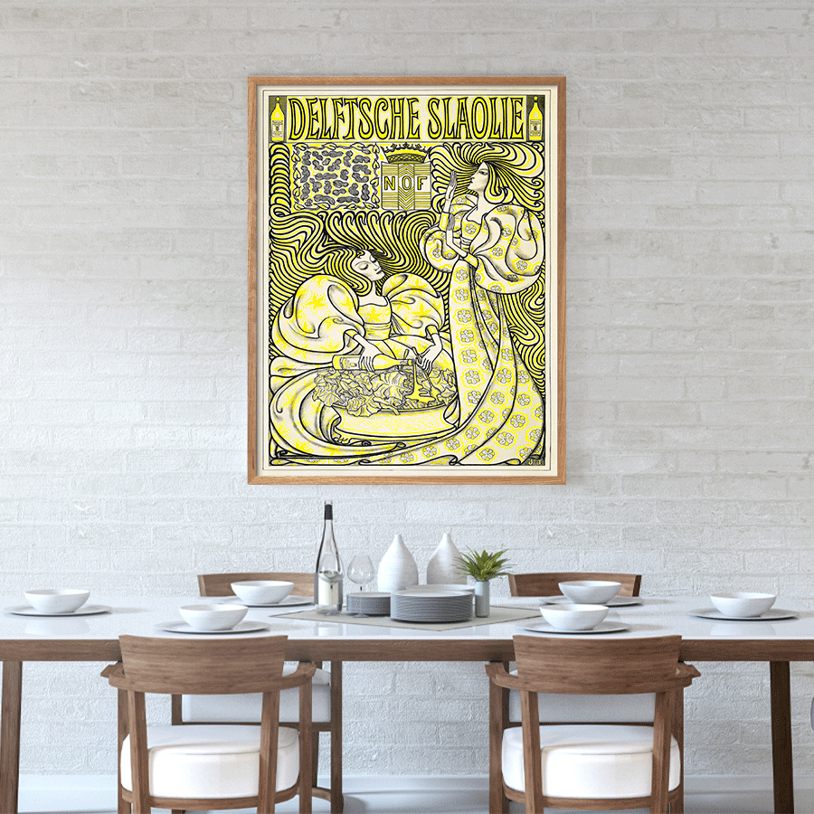Poster for Delft Salad Oil