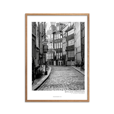 With Love Copenhagen Plakat