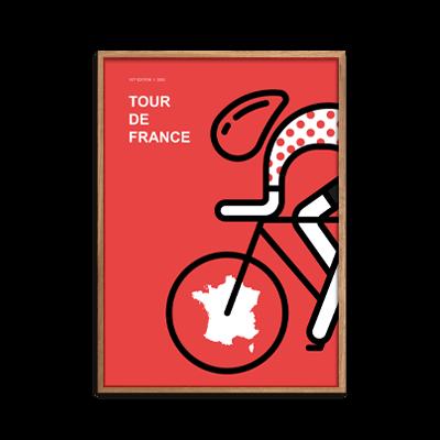 Tour de France Polka plakat