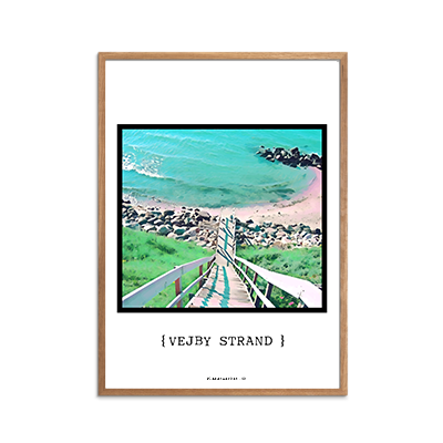 Vejby Strand Plakat