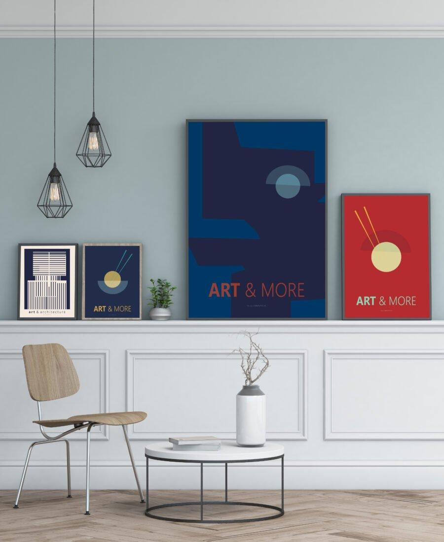Art & More no1 Plakat