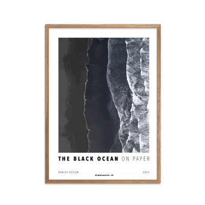 The Black Ocean plakat fra Plakatwerket