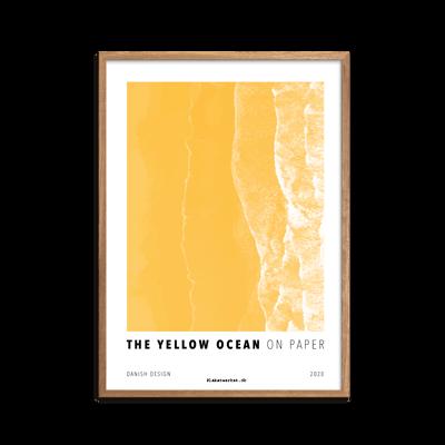 The Yellow Ocean fra plakatserien On Paper