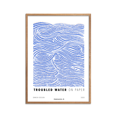 Troubled Water Blue