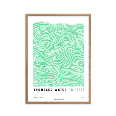 Troubled Water Mint fra serien On Paper
