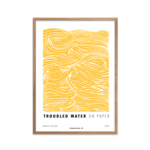 Troubled Water Yellow fra serien On Paper