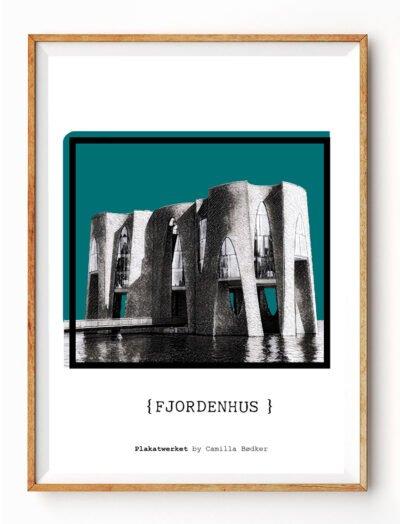 Fjordenhus Vejle Plakat