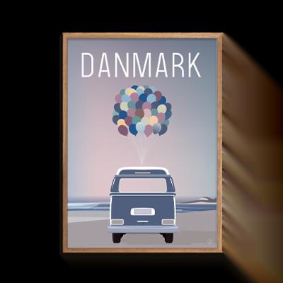 Danmark Dejligt Balloon