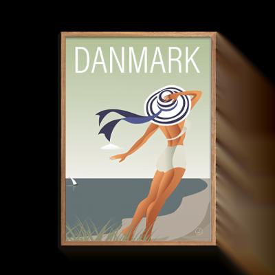 byAxl Danmark Dejligst Pige med Hat