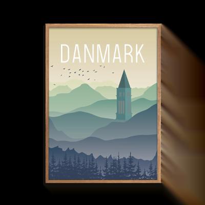 byAxl Danmark Himmelbjerget