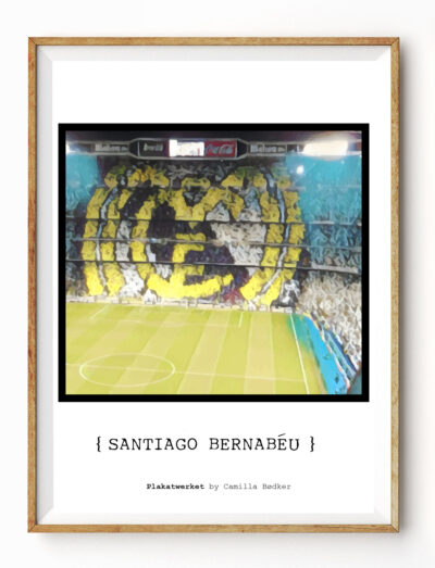 Santiago Bernabeu Plakat