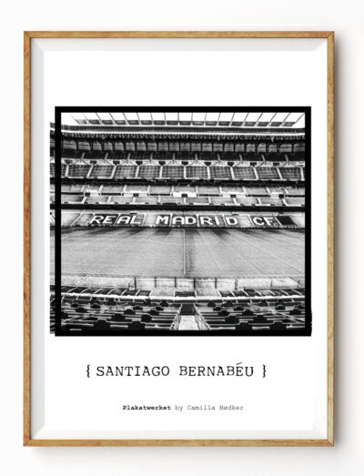 Santiago Barnabeau 1 Plakat
