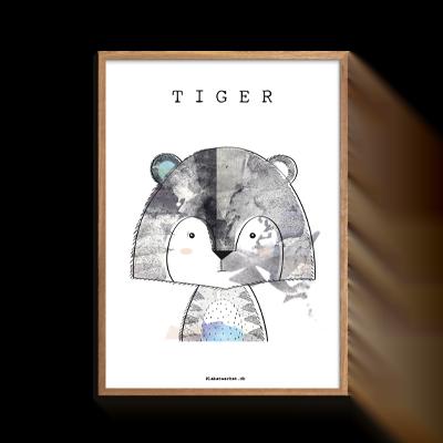 Tiger fra serien Mr. & MIss