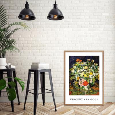 Bouquet of Flowers in a Vase Plakat