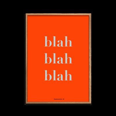 blah-blah-blah RED