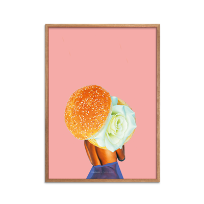 Burger Rose